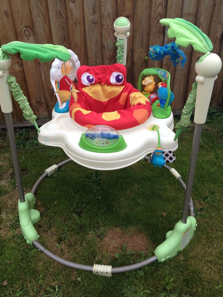 Fisher Price Rainforest Jumperoo Bouncer Spare Parts Spares | eBay
