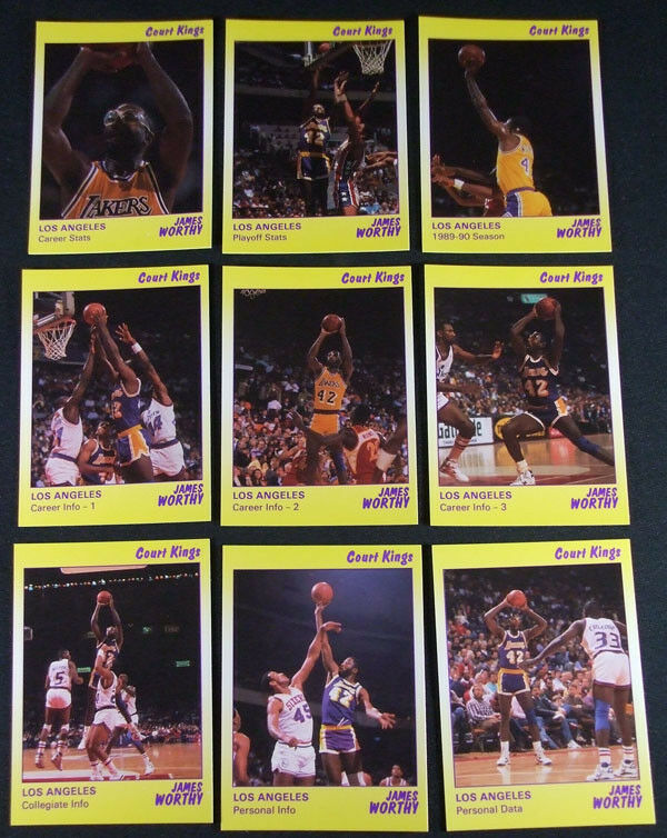 Star Court Kings James Worthy Lakers