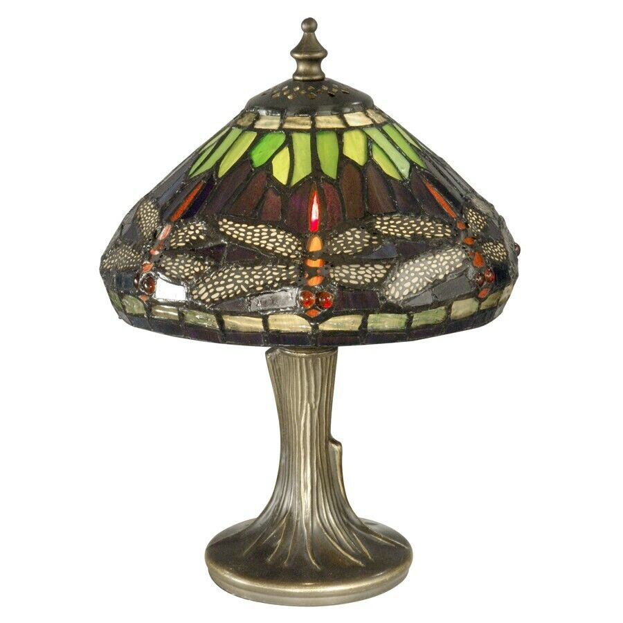 dale tiffany dragonfly table lamp 7601 521 ebay. Black Bedroom Furniture Sets. Home Design Ideas