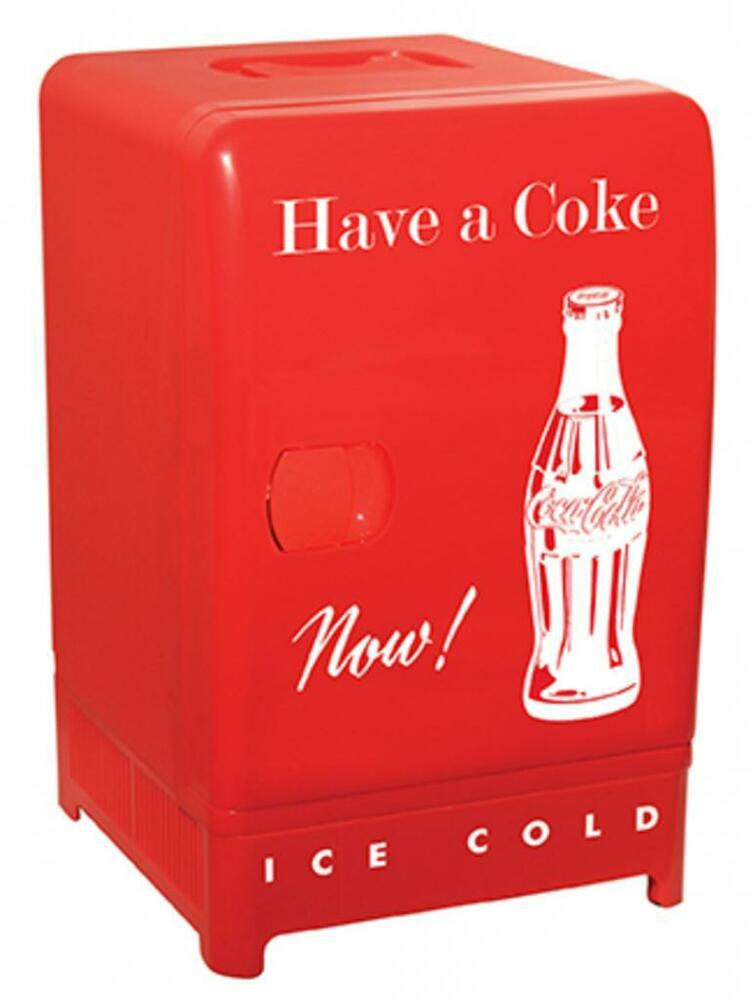 Koolatron coca cola retro fridge ccr 12 fridge new for 1 door retro coke cooler