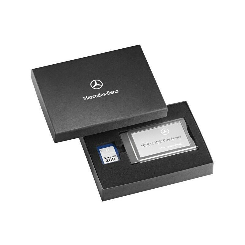 original mercedes benz pcmcia setmulti card reader mit mb. Black Bedroom Furniture Sets. Home Design Ideas
