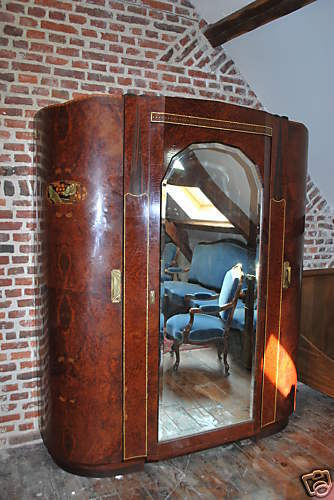 ancienne chambre a coucher art deco ebay. Black Bedroom Furniture Sets. Home Design Ideas