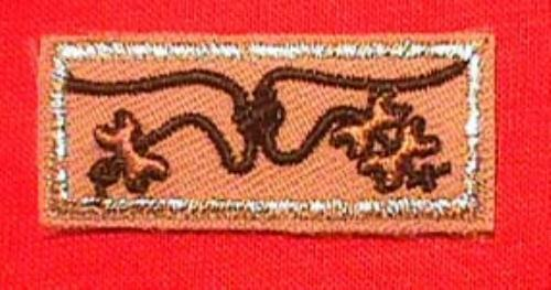 wood badge patch eBay