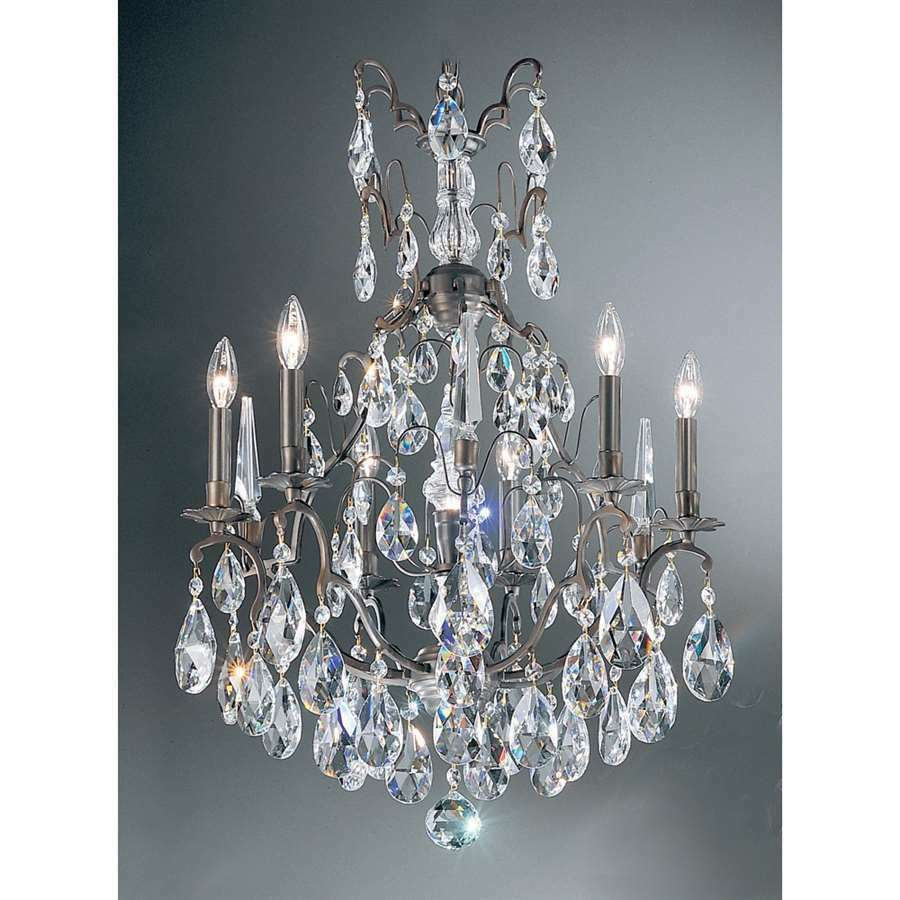 Classic Lighting Versailles Crystal Chandelier Antique