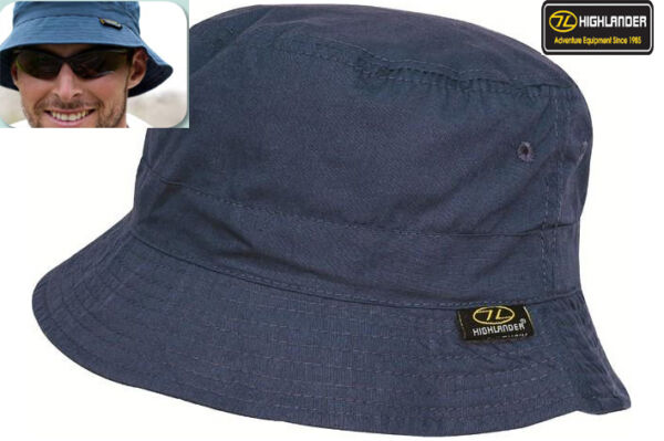 Mens Sun Hat Cap Bucket Outdoor Travel Festival Fishing Cap White Navy Blue S-XL