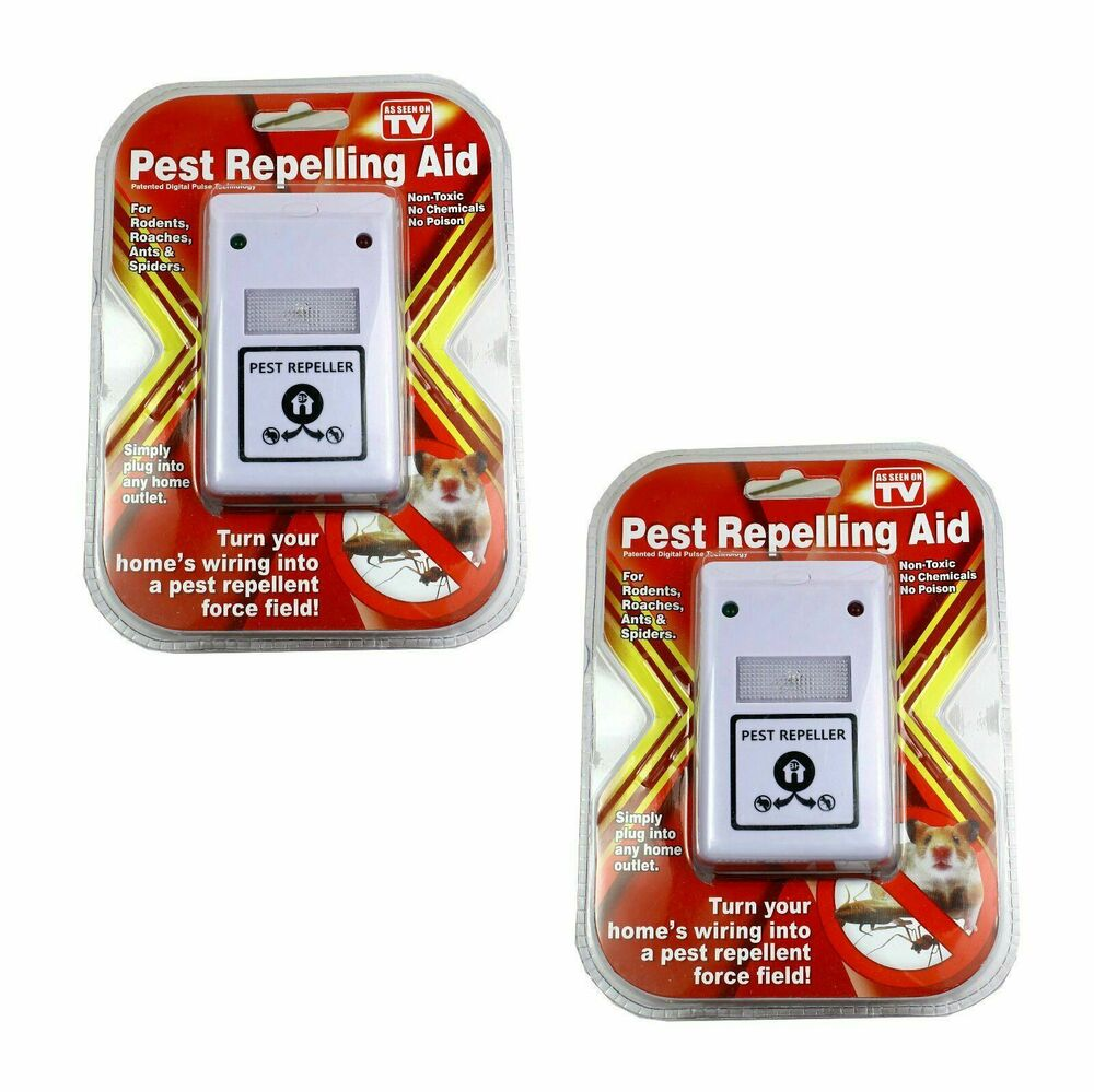 2 Riddex Plus Pest Repellent For Rodents Roaches Ants
