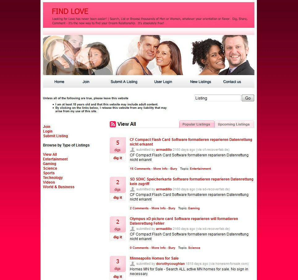 established dating website You can customize your affiliate website settings and show what links and what websites you would like to be affiliated with however if you do not want to use this list simply add your own custom affiliate links | ebay.
