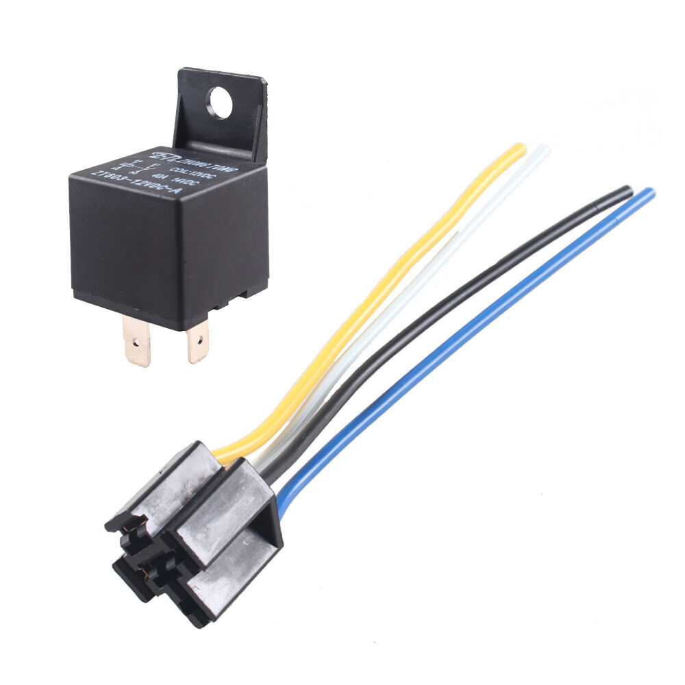 Car Truck Auto 12v 40a 40 Amp Spst Relay Relays 4 Pin 4p