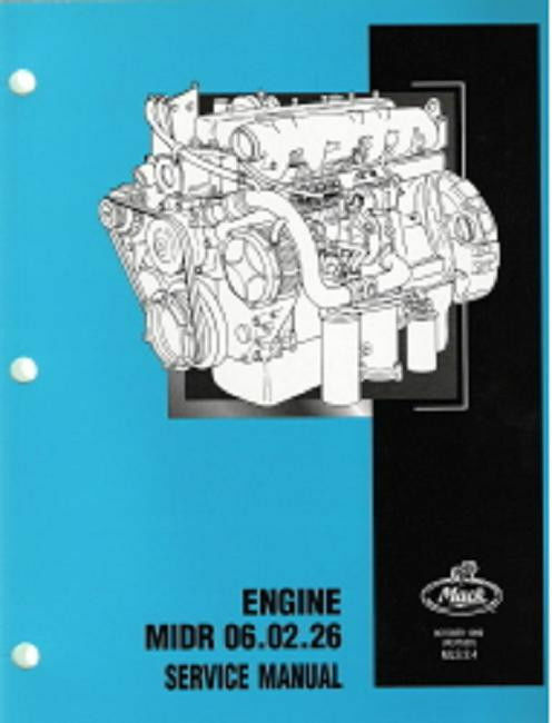 Vehicle Parts & Accessories NEW Mack Truck Engine MIDR 06 02
