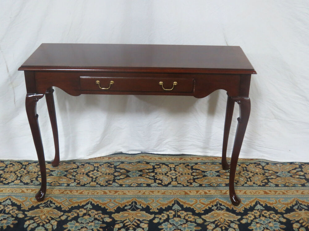 mahogany console table hickory mahogany sofa table console banded ebay 3947