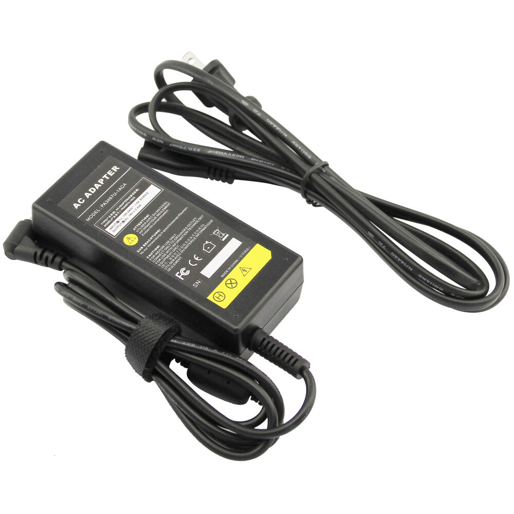 Pc Power Cord : W ac adapter for toshiba satellite l s laptop