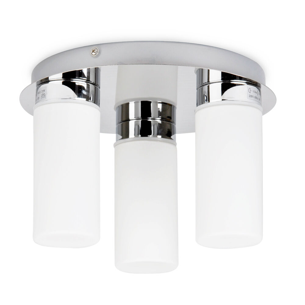 bathroom light fittings uk modern chrome amp frosted glass ip44 bathroom ceiling spot 16067