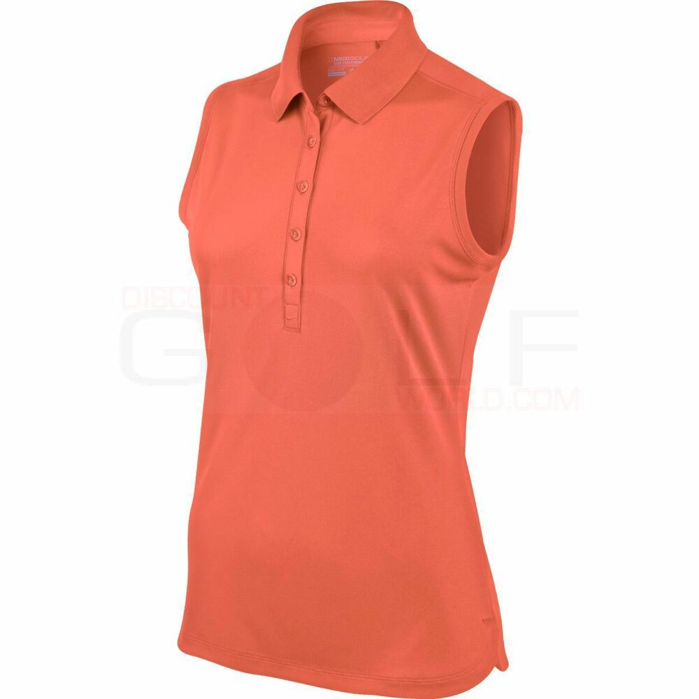 Nike dri fit tennis womens ladies sleeveless xs 508293 841 for Women s dri fit golf shirts