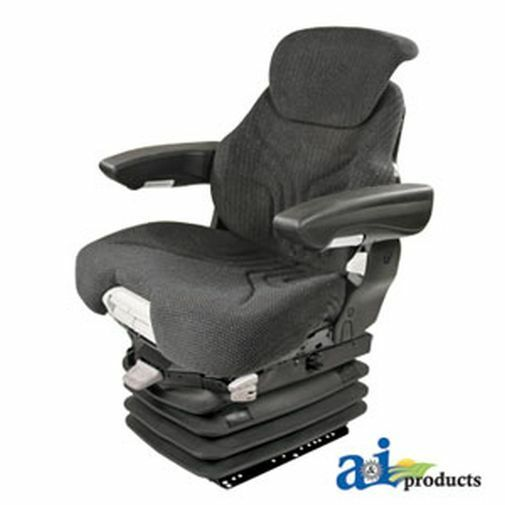 New Universal Charcoal Grammer Seat Assembly W Air