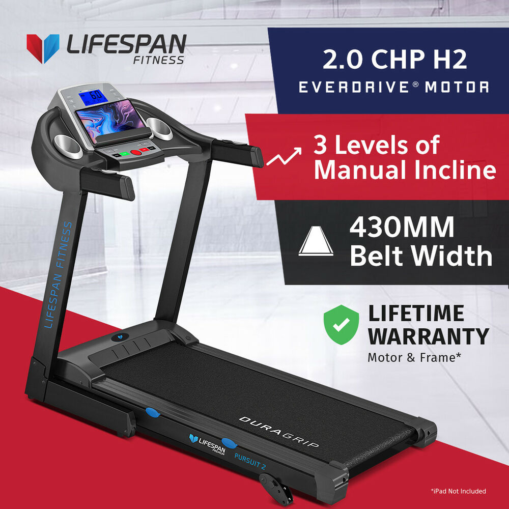 Lifespan Pursuit New Electric Treadmill Quiet Everdrive Motor W Repair Short Circuit Ipad Stand 9347166024541 Ebay