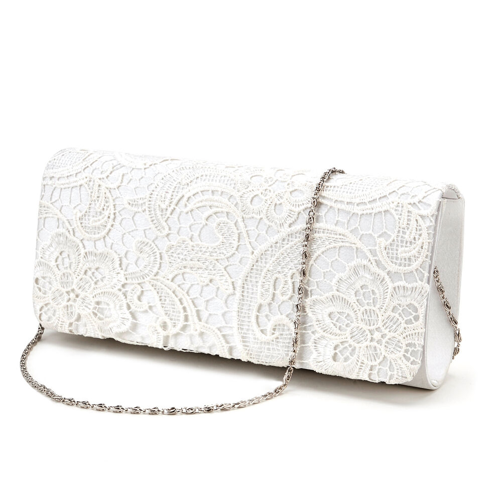 Ivory handbag wedding