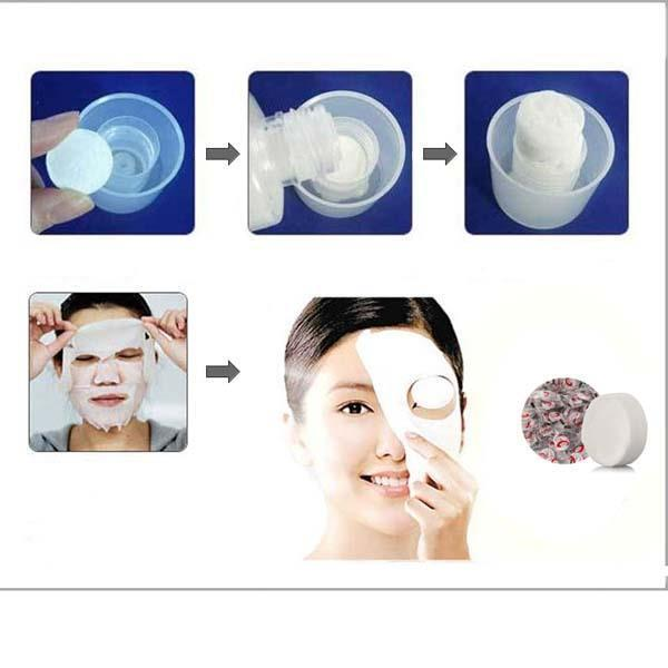 3 All Natural Diy Face Masks: Compressed Facial Face Cotton Mask Sheet DIY Smart Natural