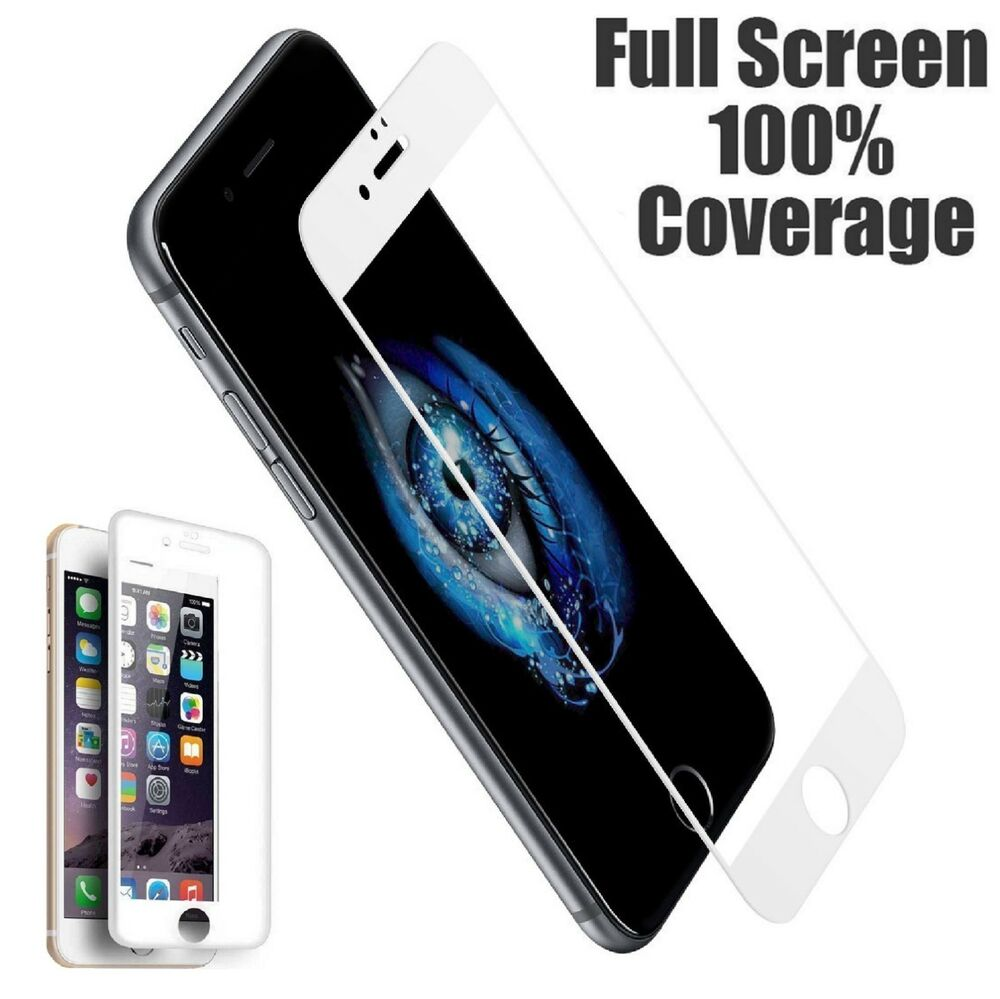 White Iphone Screen Protector