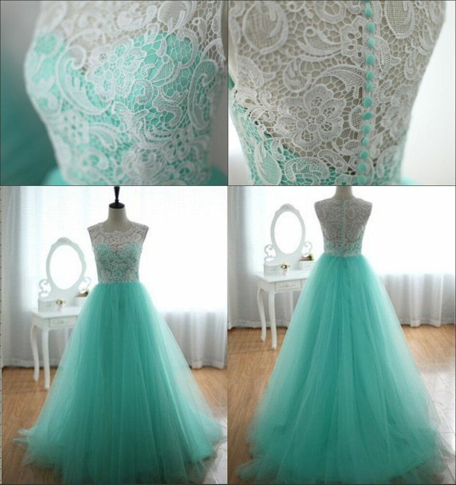 Free cheap long formal evening party gown bridesmaid prom for Ebay cheap wedding dress
