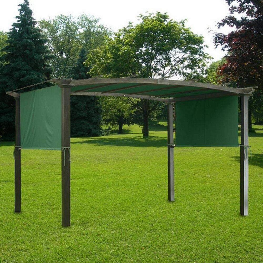 17x6 5ft Pergola Canopy Replacement Cover Outdoor Yard