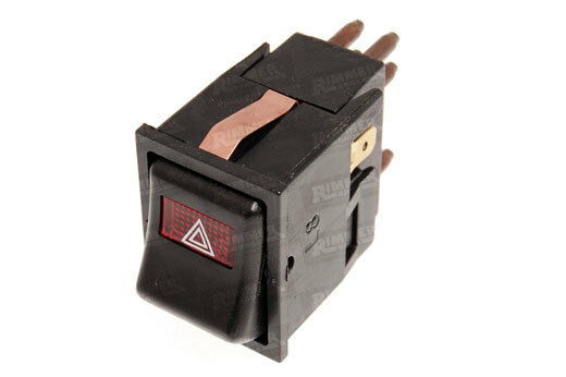 classic mini hazard warning switch yuf101660 1976 mk4. Black Bedroom Furniture Sets. Home Design Ideas