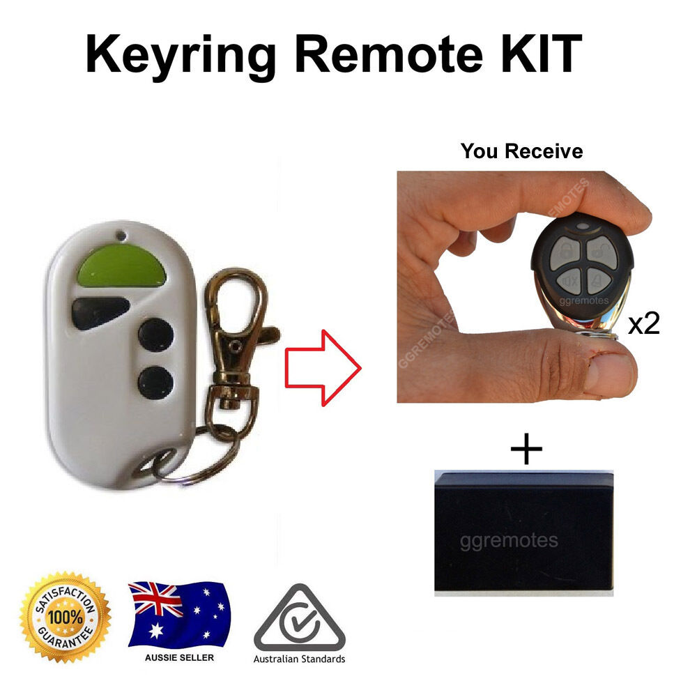 Remote Control Addon Kit For Acdc Rollerglide Acdc1 Green White Gliderol Wiring Instructions Transmitter Ebay