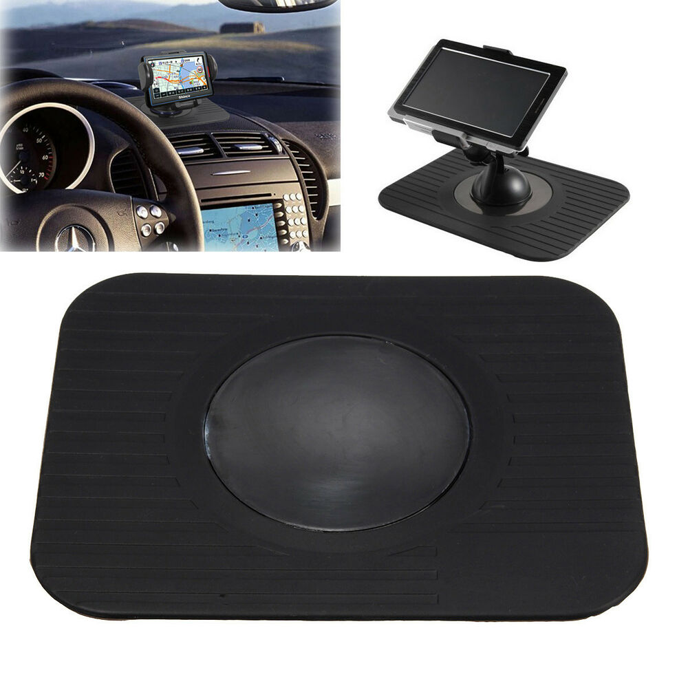 in car gps dvd dashboard mount holder sat nav dash mat for satnav tomtom navman ebay. Black Bedroom Furniture Sets. Home Design Ideas