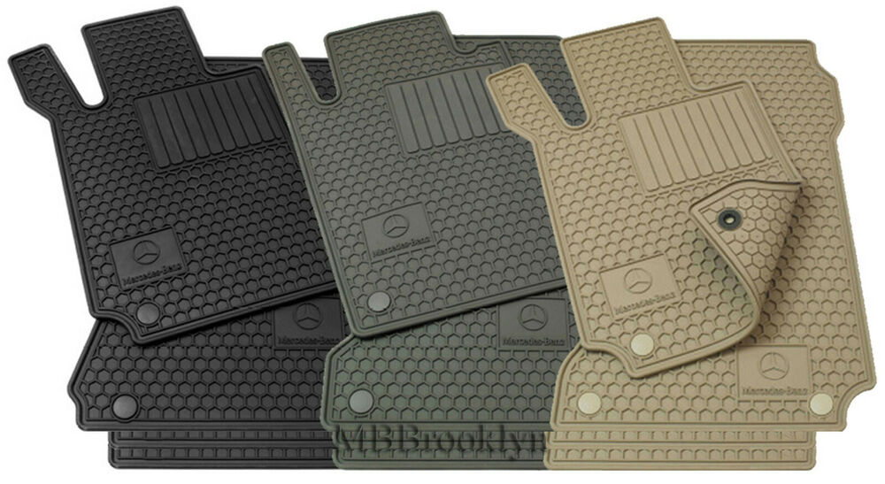 Mercedes Benz Oem All Weather Floor Mats 2003 To 2009 E