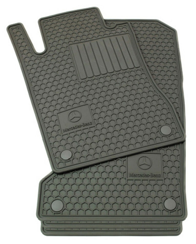 Mercedes benz oem all weather floor mats 2010 to 2016 e for Mercedes benz e350 floor mats