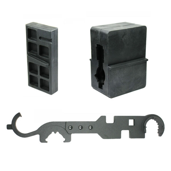 Upper & Lower Receiver Vise Block Armorer  Wrench for .223 5.56 Rifle Repair