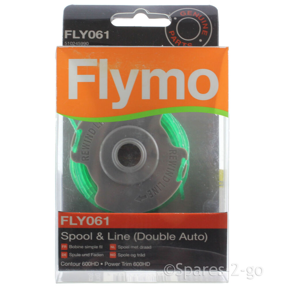 flymo strimmer spool line double auto fly061. Black Bedroom Furniture Sets. Home Design Ideas