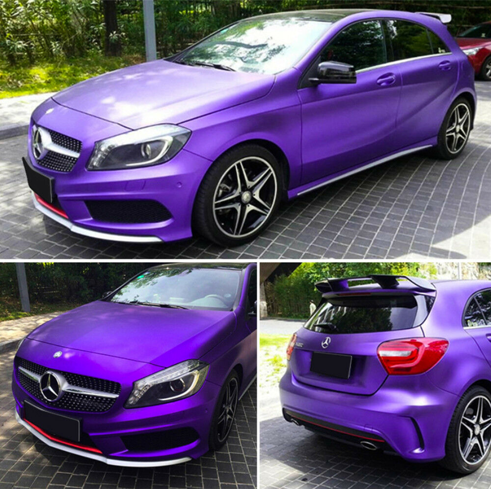 Ice purple new auto car body pvc vinyl wrap sticker decal film sheet vehicle diy ebay