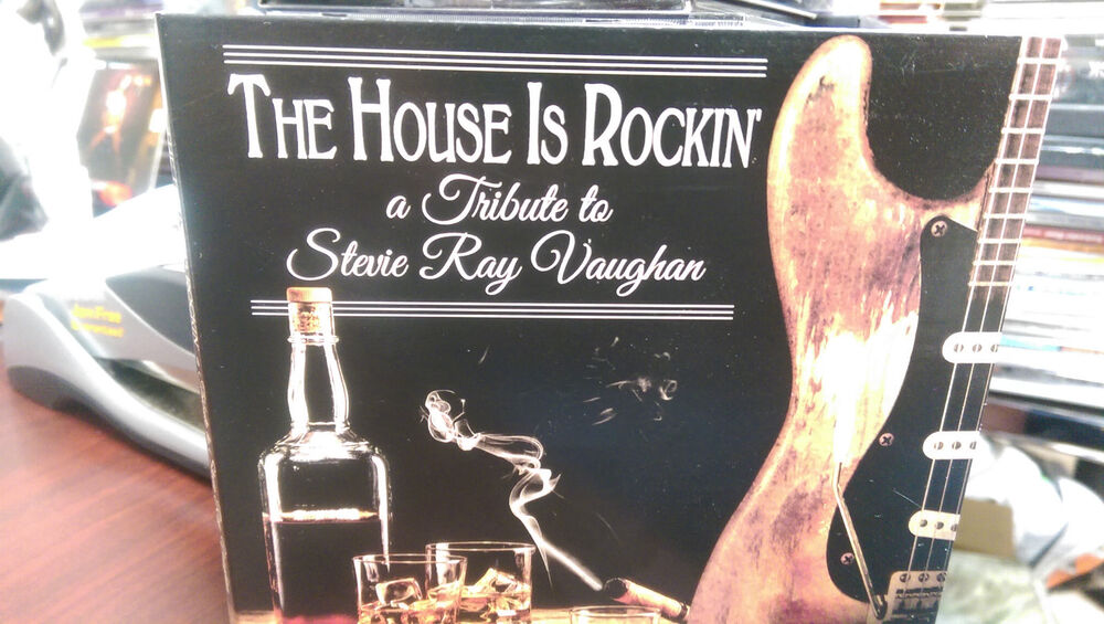 the house is rockin a tribute to stevie ray vaughan cd blues rock pride joy ebay. Black Bedroom Furniture Sets. Home Design Ideas