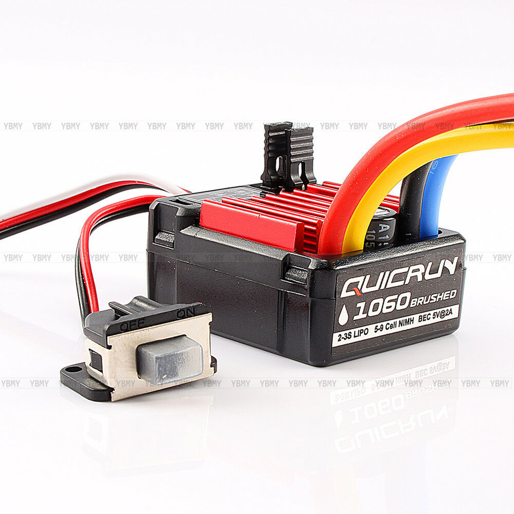 Hobbywing Quicrun 1060 60a Brushed Esc Electronic Speed