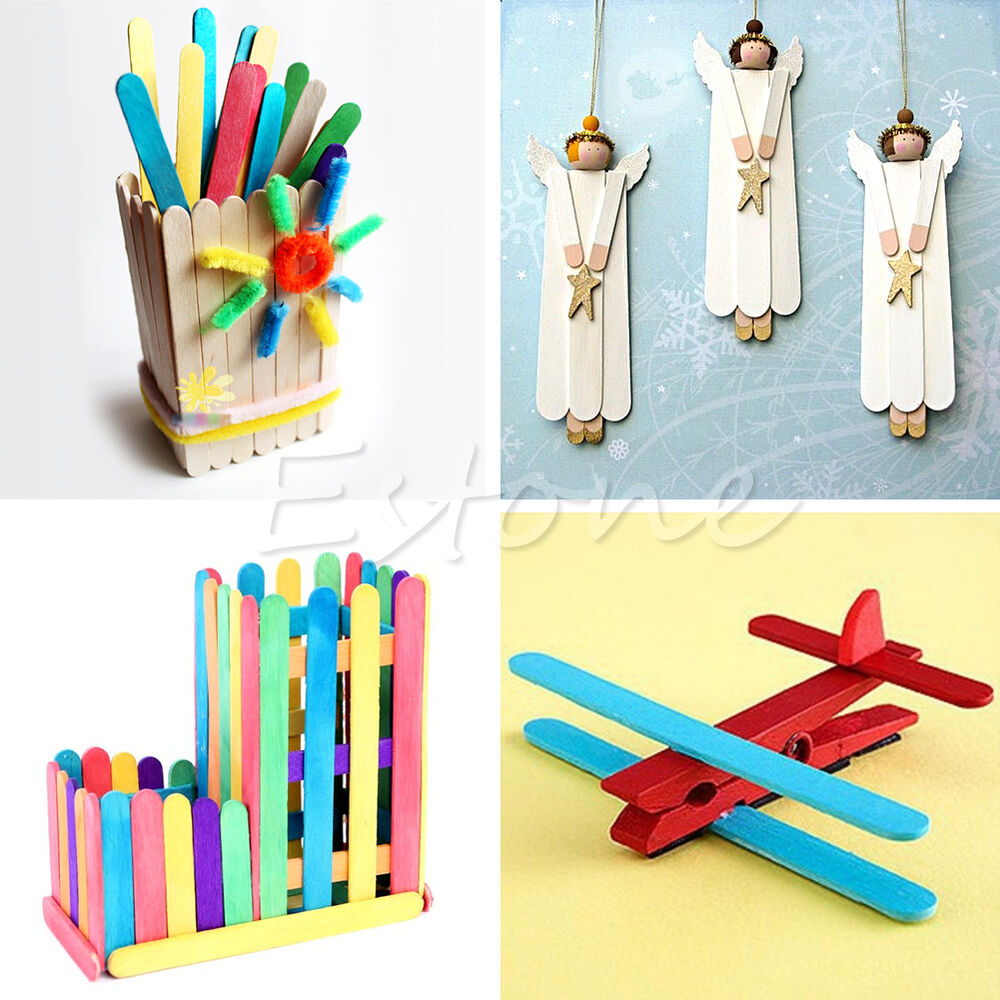 Ice Lolly Stick Crafts