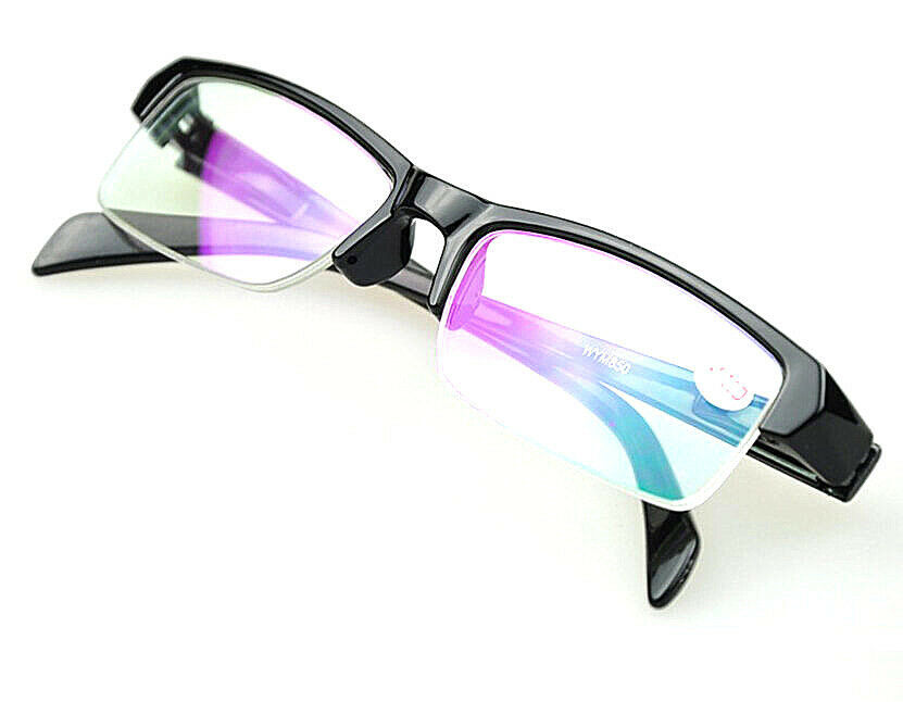 Half Rimless Tinted Lenses Short Sight Glasses Myopia ...