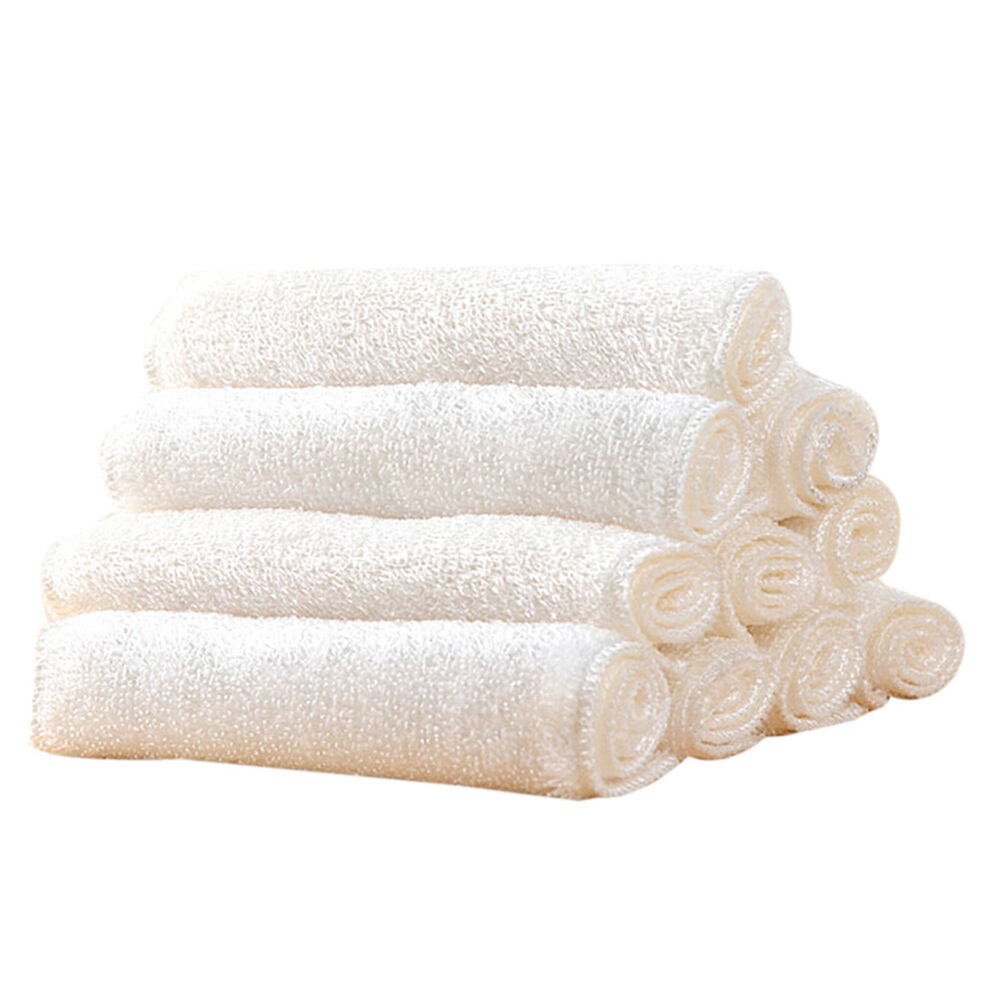 Dish Towel In: Kitchen Cleaning Bowl Dishcloths Absorbent Bamboo Fiber