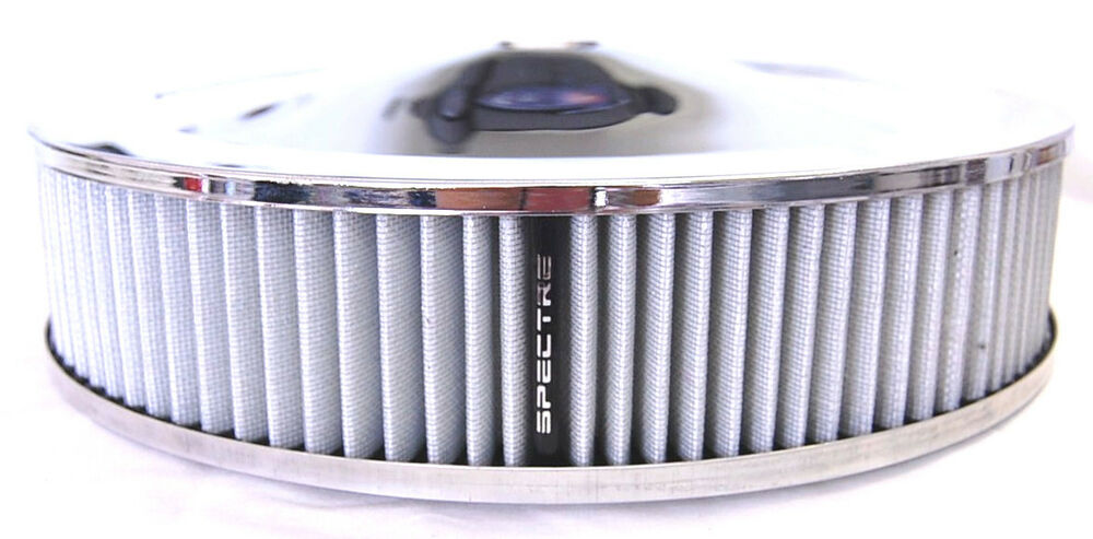 Low Profile Air Cleaner Base : Spectre chrome air cleaner quot k n style