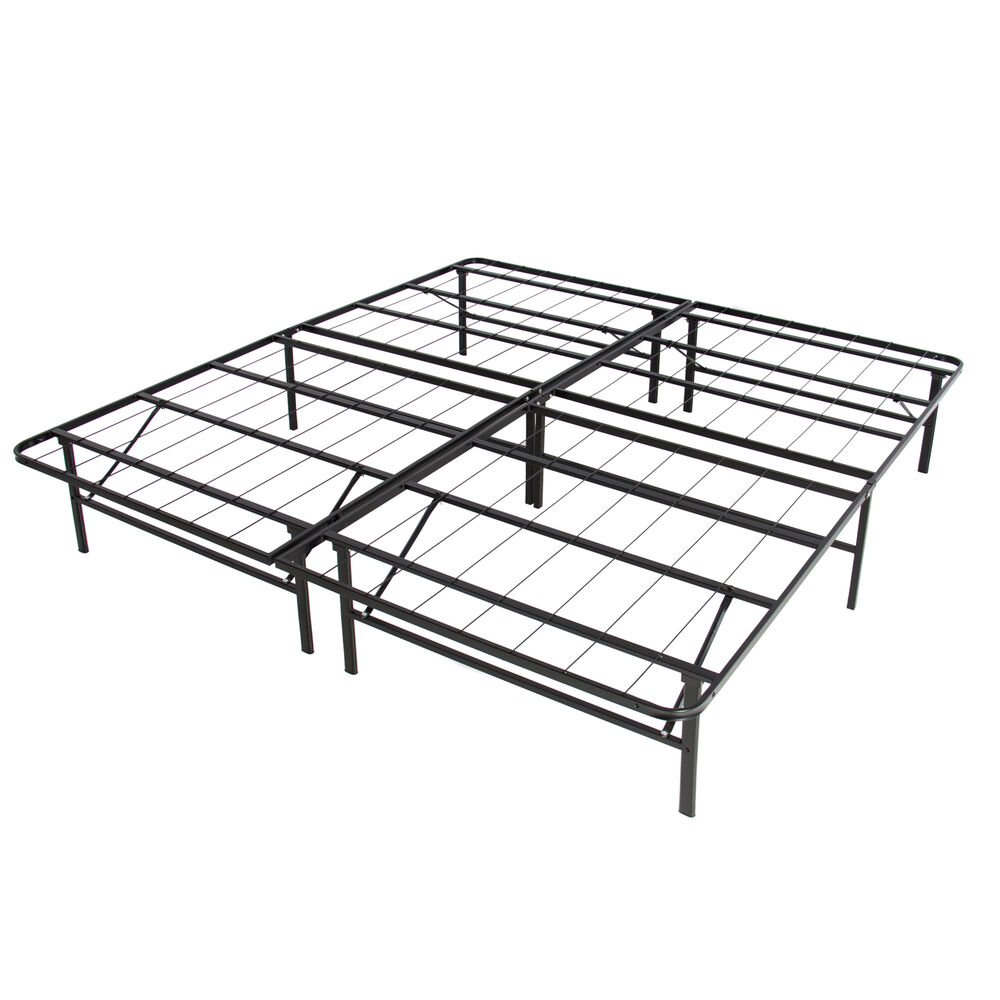 Bcp Metal Bed Frame Foldable No Box Spring Needed Mattress