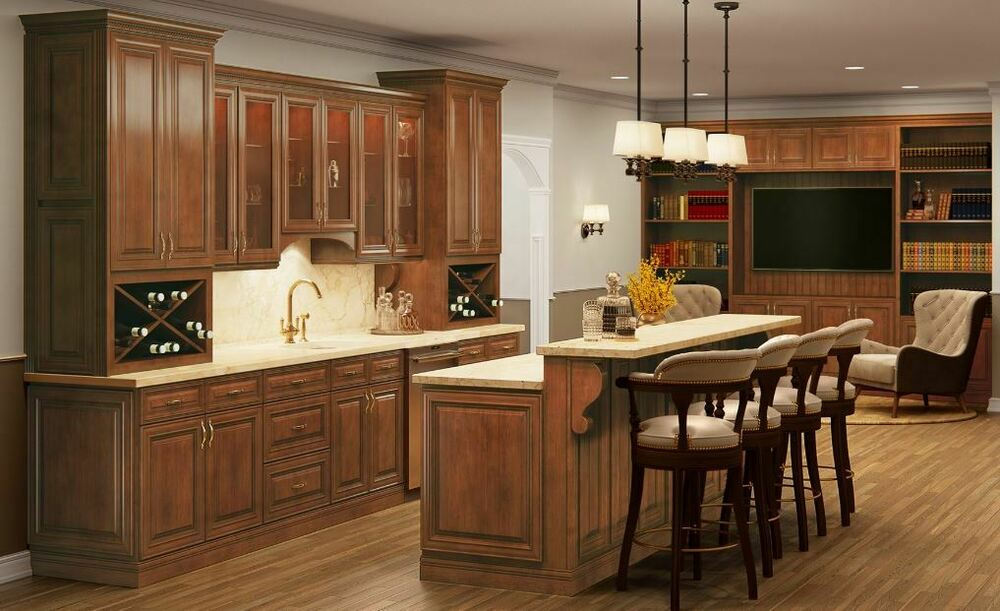 Saddle Maple Kitchen Cabinets Sample Door Rta All Wood