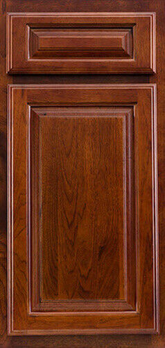 Cherry walnut kitchen cabinets sample door rta all wood cam lock assembly ebay for Cam lock kitchen cabinets