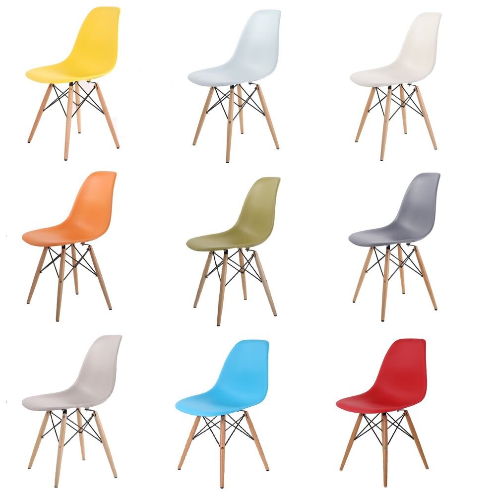 Eames Inspired Eiffel Retro Dsw Dsr Plastic Dining Office