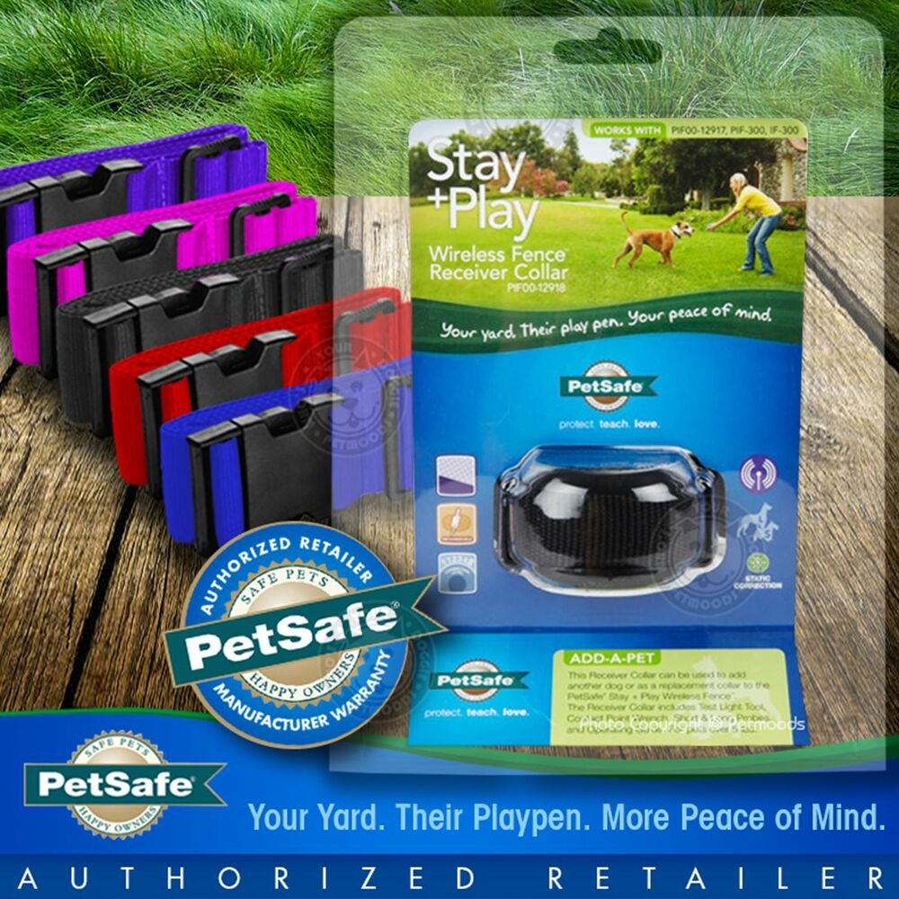 Petsafe Stay Play Wireless Fence Collar Rechargeable Pif00