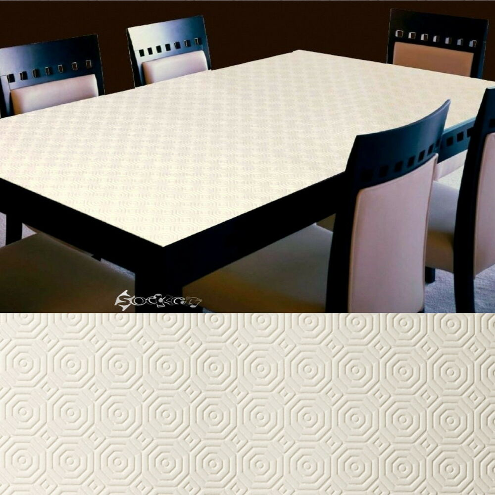 Embossed Waterproof And Heat Absorbent Table Top Protector
