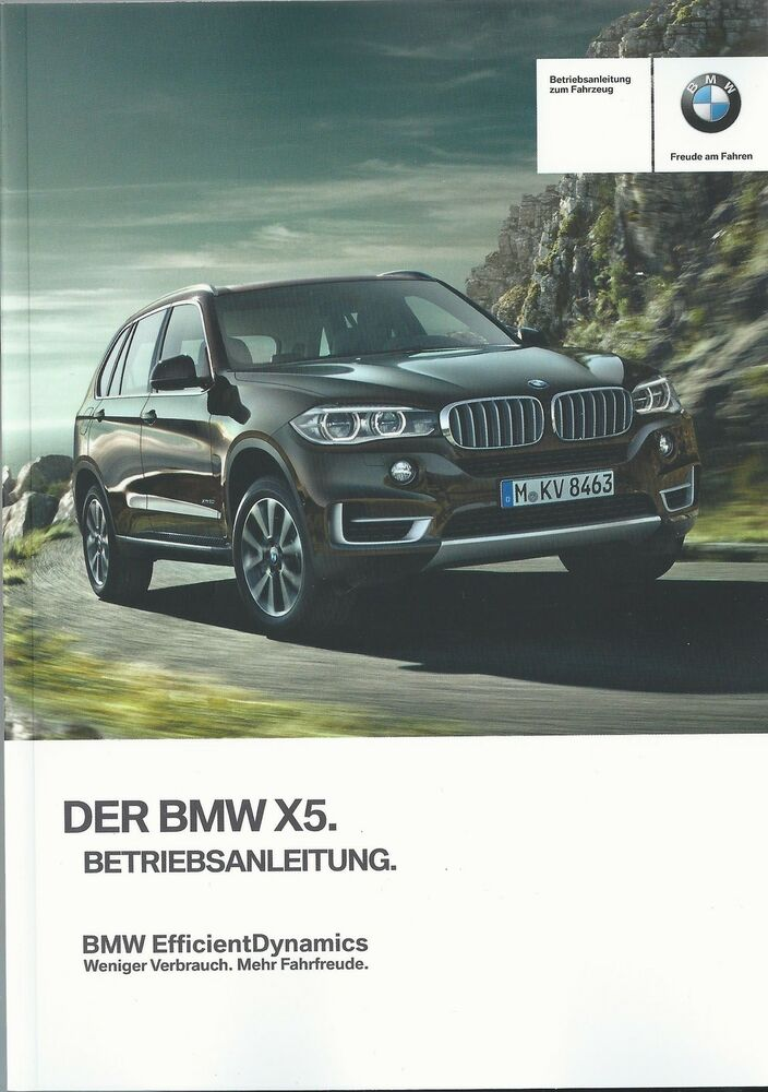 bmw x5 f15 betriebsanleitung 2014 2015 bedienungsanleitung handbuch bordbuch ba ebay. Black Bedroom Furniture Sets. Home Design Ideas