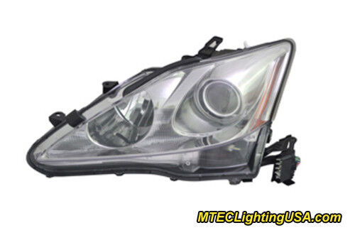 Tyc Left Driver Side Xenon Hid Headlight For Lexus Is250