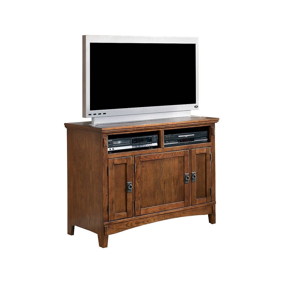 Ashley Furniture Cross Island Medium Brown Tv Stand W319