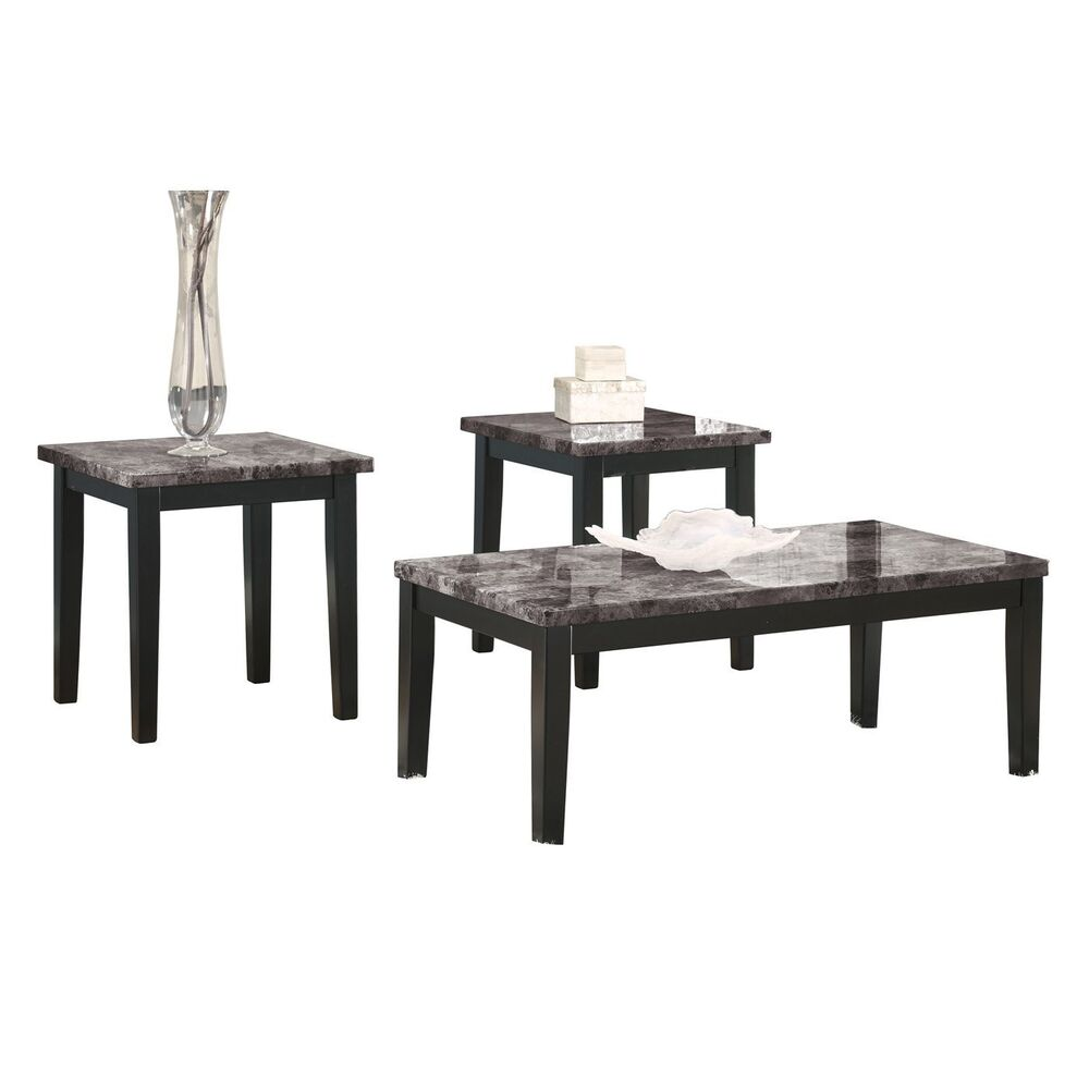 Ashley Furniture Table: Ashley Furniture Occasional Table Set (3/CN) Maysville