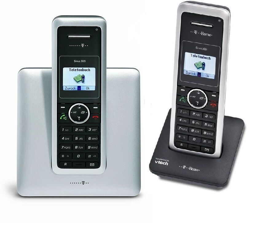 t sinus 302i duo isdn schnurlos telefon mit 2 mobilteile. Black Bedroom Furniture Sets. Home Design Ideas