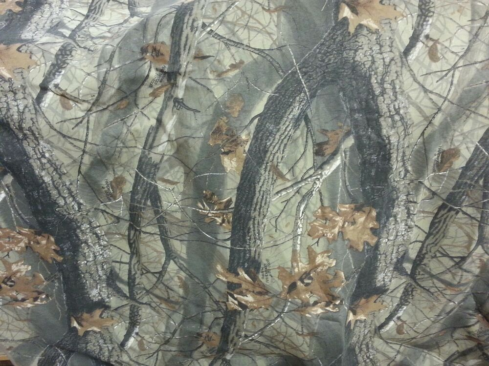 Realtree hardwoods hunting camo fabric poly blind